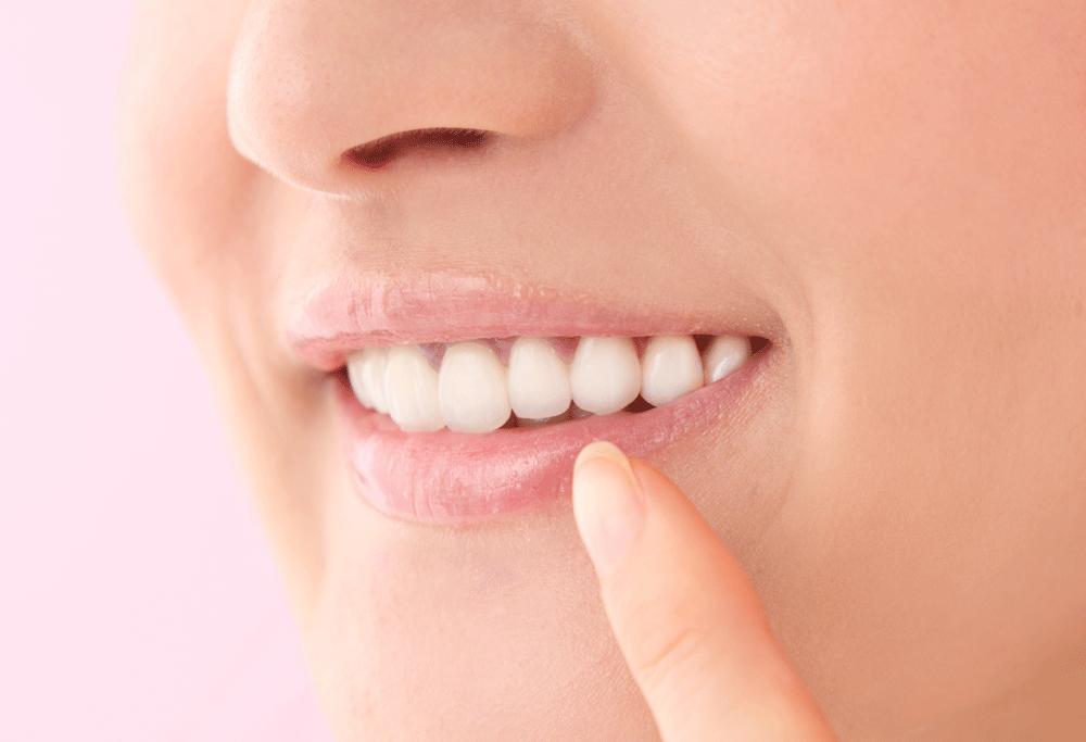 部分矯正歯並び