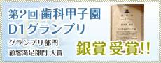 D1グランプリ銀賞