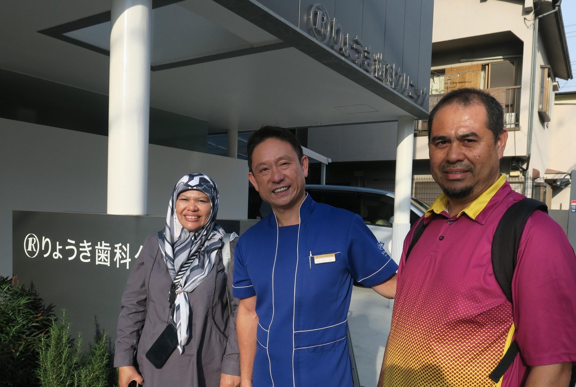 マレーシアの厚労省歯科保健課からの見学、Jamaliah Omar先生